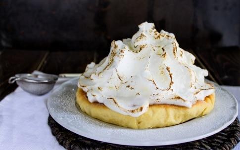 Preparazione Crostata meringata al limone - Fase 3