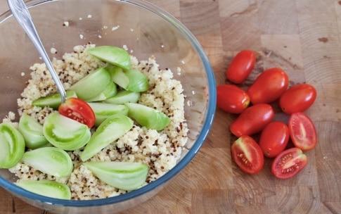 Preparazione Insalata di pomodori e cereali - Fase 5