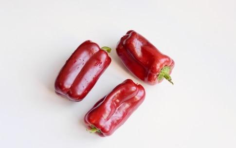 Preparazione Peperoni ripieni di cous cous e ceci - Fase 1