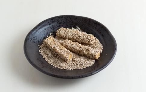 Preparazione Stick di tofu al sesamo - Fase 2
