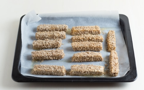 Preparazione Stick di tofu al sesamo - Fase 3