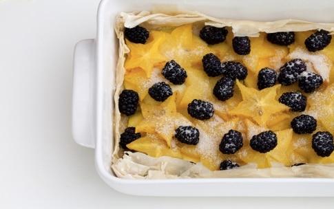 Preparazione Crostata meringata ai frutti esotici - Fase 4