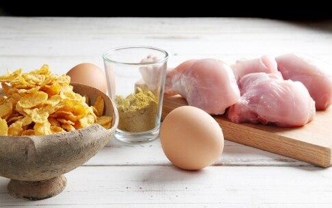 Preparazione Pollo al forno ai corn flakes  - Fase 1