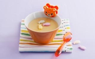 Budino di latte e biscotti