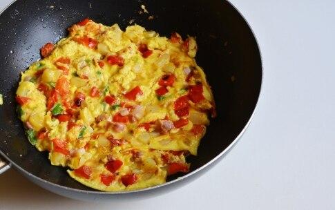 Preparazione Frittata waffle - Fase 2