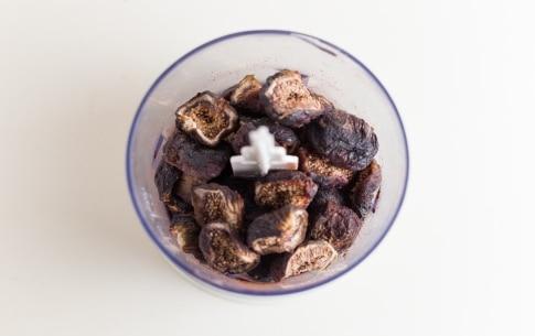 Preparazione Fudge con ganache al cioccolato e frutta secca - Fase 1