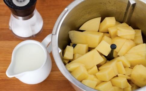 Preparazione Gateau di patate con il Bimby - Fase 3