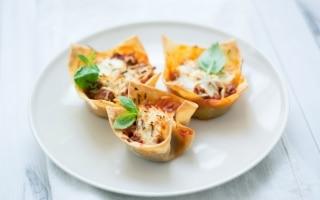 Mini lasagne