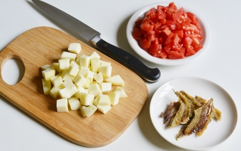 Preparazione Pizzette di melanzane - Fase 2