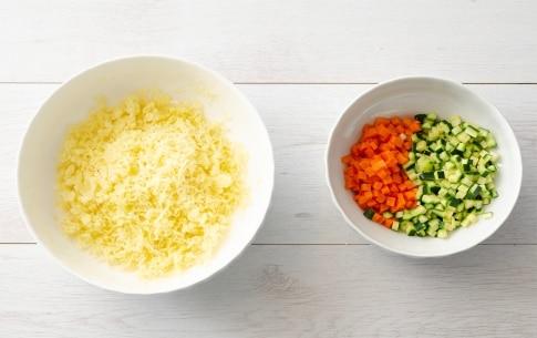 Preparazione Polpette di verdure al forno - Fase 1