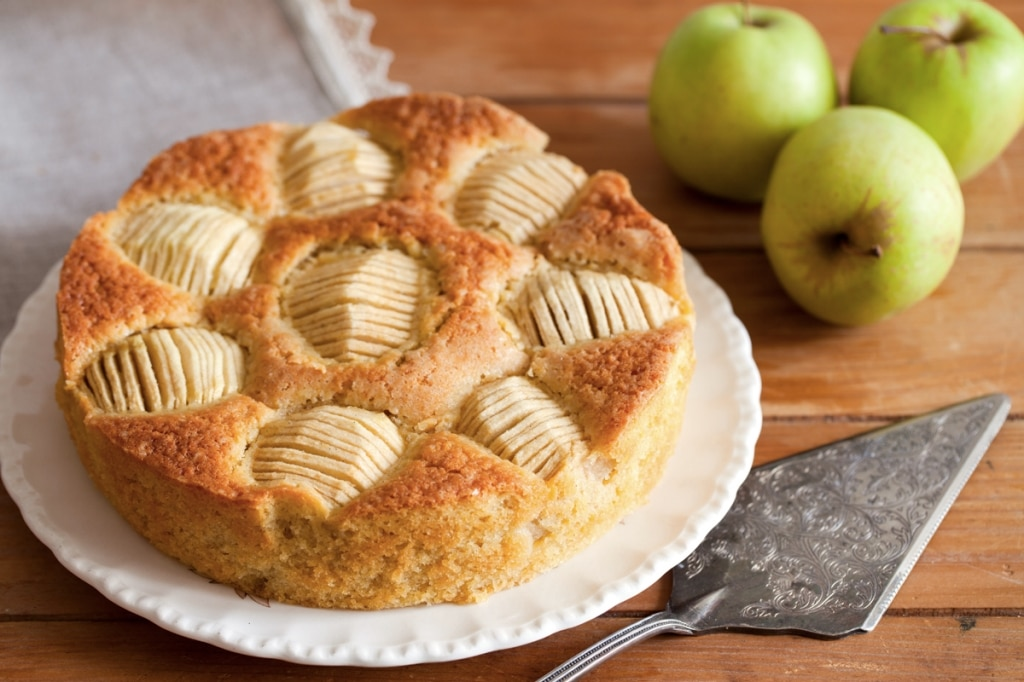 Torta di mele al sidro