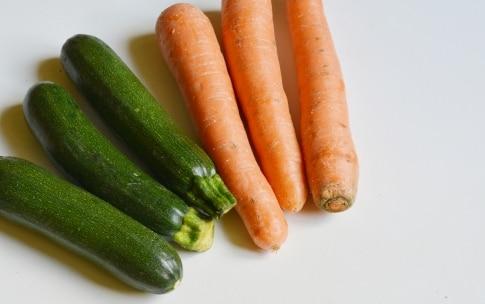 Preparazione Torta salata vegetariana - Fase 1