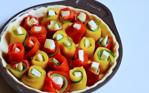 Preparazione Crostata salata di peperoni - Fase 4