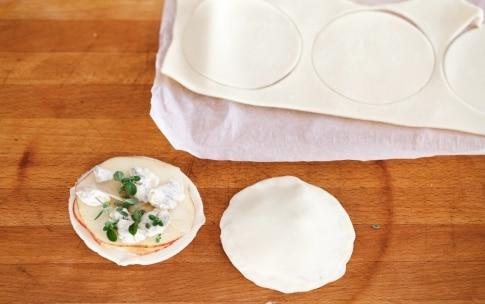 Preparazione Sfogliatine alle mele e gorgonzola - Fase 3