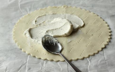 Preparazione Torta salata con erba cipollina e brie  - Fase 2
