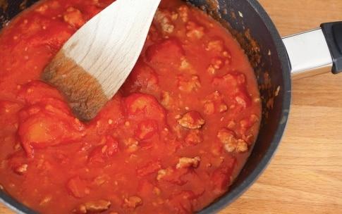 Preparazione Ziti al forno - Fase 2