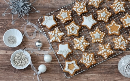 Biscotti alla cannella e arancia