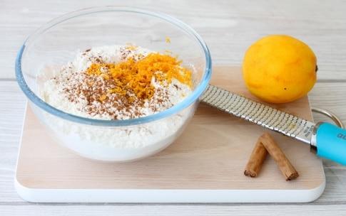 Preparazione Biscotti alla cannella e arancia - Fase 1