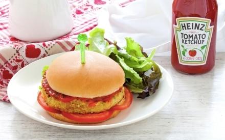 Burger di quinoa e verdure miste