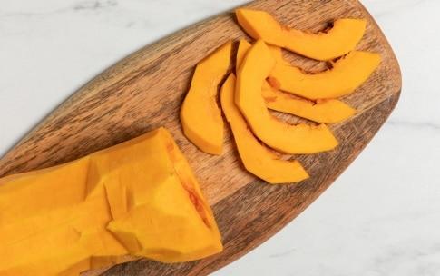 Preparazione Gratin di pane, zucca e formaggio - Fase 1
