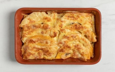 Preparazione Gratin di pane, zucca e formaggio - Fase 4