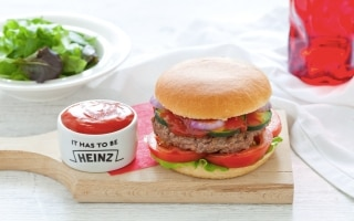 Hamburger di manzo classico