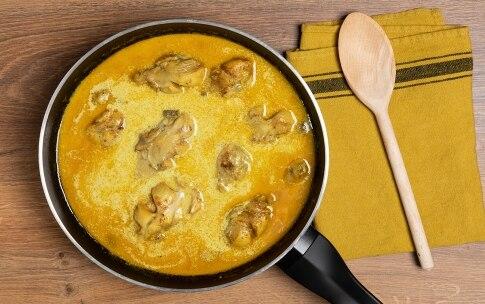 Preparazione Pollo al curry - Fase 3