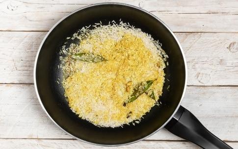 Preparazione Riso al curry - Fase 1