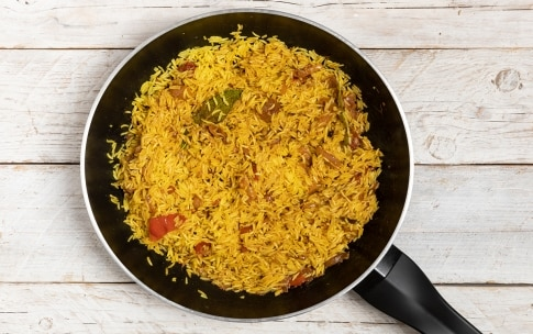 Preparazione Riso al curry - Fase 4