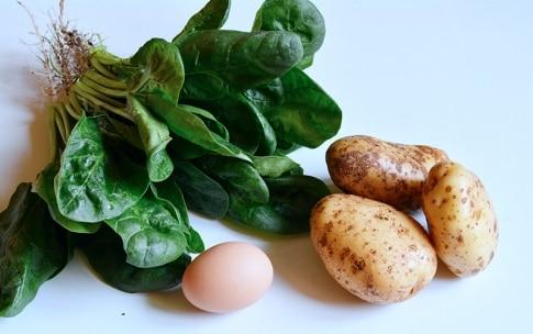 Preparazione Rotolo di spinaci - Fase 1