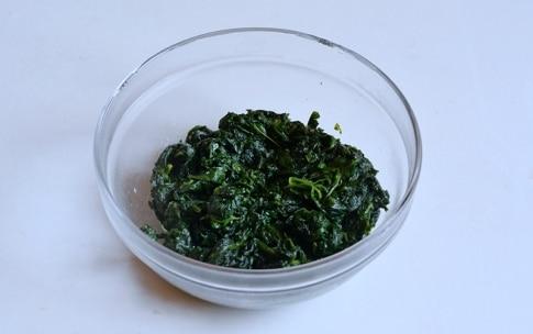 Preparazione Rotolo di spinaci - Fase 3