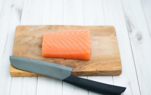 Preparazione Tartare di salmone - Fase 1