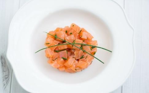 Preparazione Tartare di salmone - Fase 2