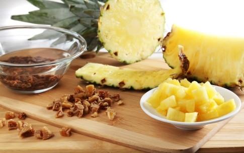 Preparazione Ananas di formaggio - Fase 1