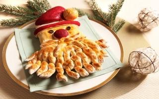 Babbo Natale di pane