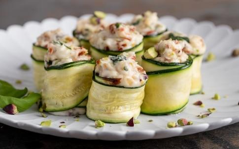 Preparazione Involtini di zucchine  - Fase 3