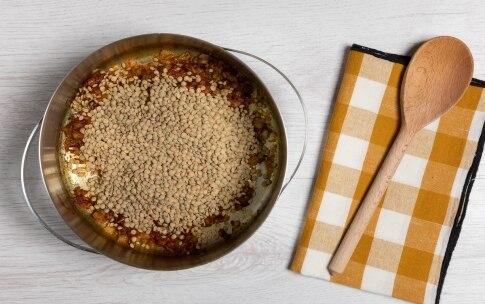Preparazione Zuppa di lenticchie verdi, zenzero e curcuma  - Fase 1