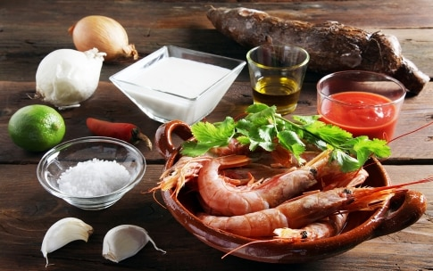 Preparazione Bobó de camarão - Fase 1