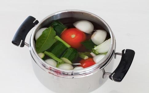 Preparazione Brodo vegetale - Fase 2