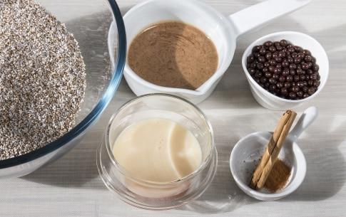 Preparazione Dolci di amaranto e cioccolato - Fase 1