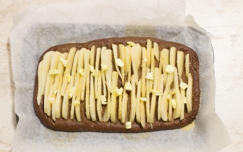 Preparazione Focaccia dolce con pere e cioccolato - Fase 4