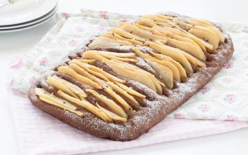 Preparazione Focaccia dolce con pere e cioccolato - Fase 5