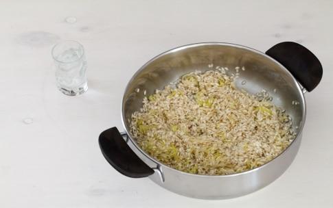 Preparazione Risotto al salmone - Fase 3