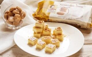 Torta magica all'Amaretto
