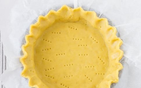 Preparazione Crostata con ganache al cioccolato e crema al mascarpone  - Fase 2