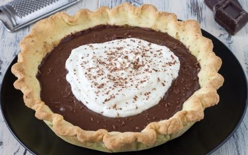 Preparazione Crostata con ganache al cioccolato e crema al mascarpone  - Fase 5