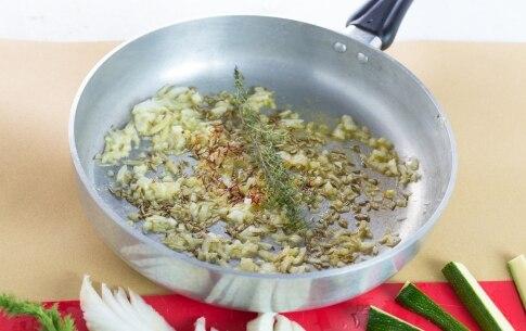 Preparazione Finocchi e zucchine brasati - Fase 1