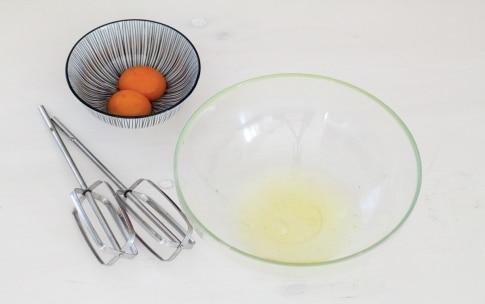 Preparazione Nuvole di uova e bacon - Fase 1