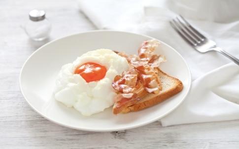 Preparazione Nuvole di uova e bacon - Fase 3