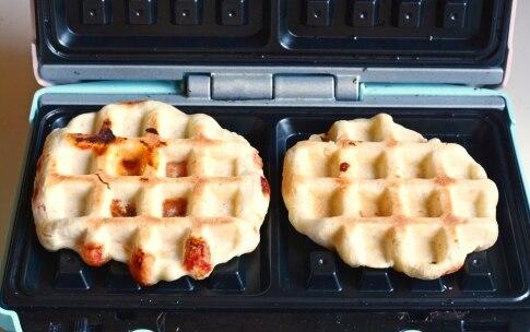 Preparazione Pizza waffle - Fase 3